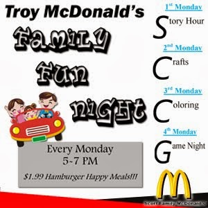 McDs Family Night Mondays