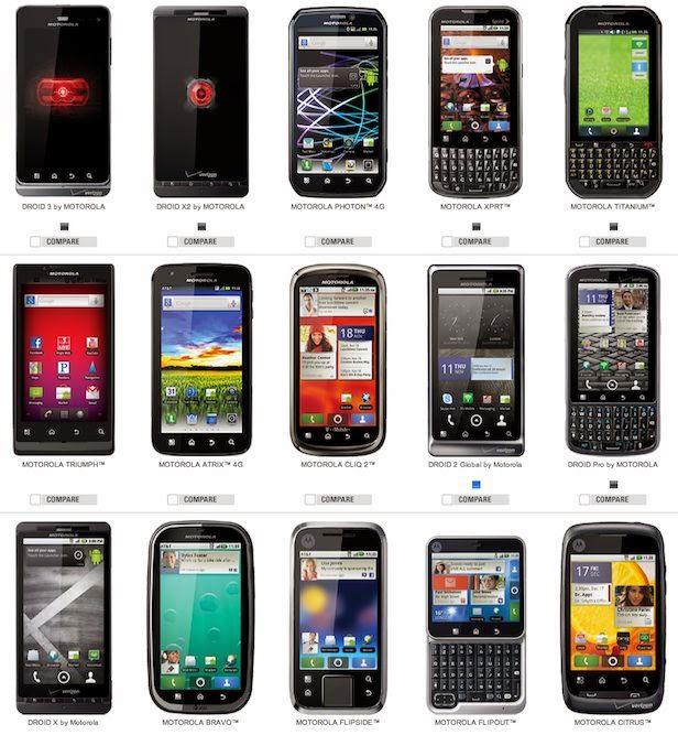 Harga HP Motorola Android