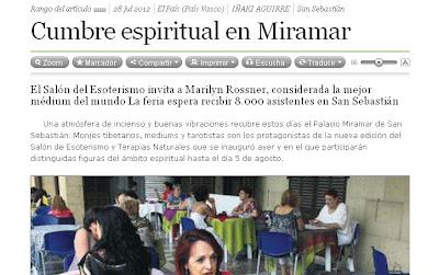 Cumbre espiritual en Miramar