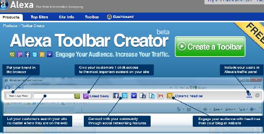 alexa toolbar demo