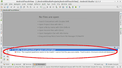 Android Studio Error:The Supplied Javahome Seems To Locomote Invalid. Ane Cannot Honor The Coffee Executable.