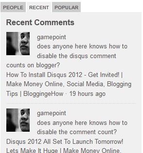 disqus multi tabbed community comment