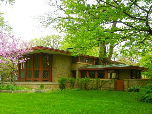 Historia del arte arquitectura organicista for Frank lloyd wright river house
