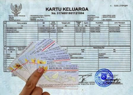 Anggaran Perubahan KK Dan KTP 400 Juta