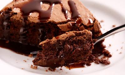 Receita de Torta de chocolate derretido