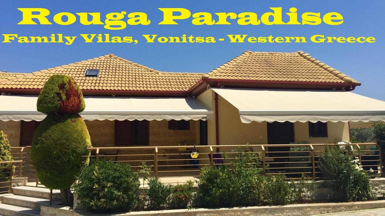 Rouga Paradise, Βόνιτσα, Κατοικίες οικογενειακών διακοπών