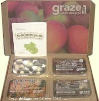 Graze box snack nibble box
