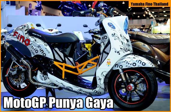 Modifikasi Yamaha Fino Thai Look