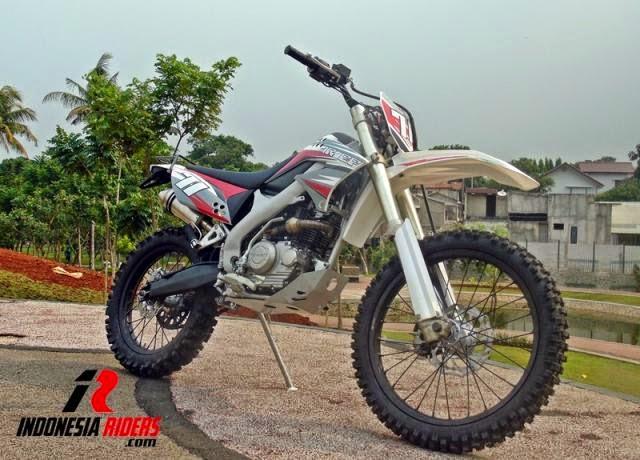 foto modifikasi motor kawasaki klx 150