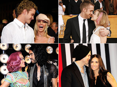 celebrity breakups dealing with a breakup maturely break up