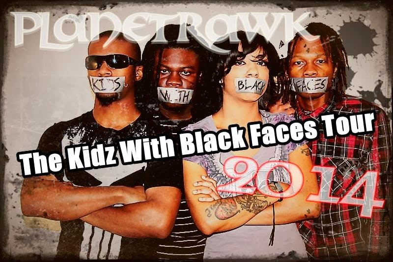 Kids With Black Faces Tour 2014
