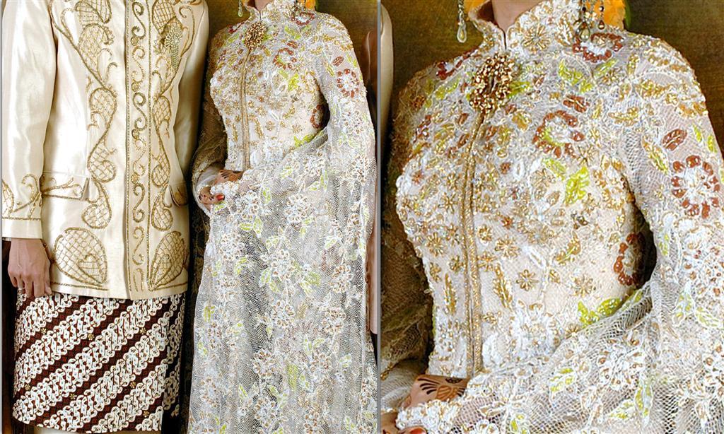 Gaun Pengantin Muslim Modern - Model Baju Kebaya Pengantin Muslim
