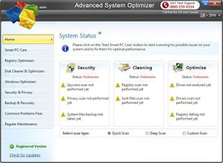 Advanced System Optimizer 3.5.1000.13743 Incl Crack
