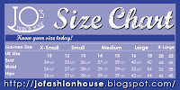 Don't know your size? Not anymore :)
