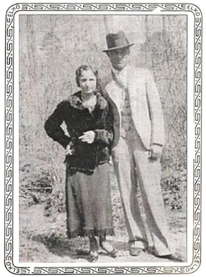 Bonnie with Henry Methvin