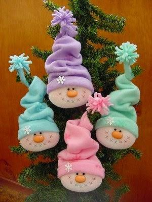 imagen de lindos muñecos de navidad