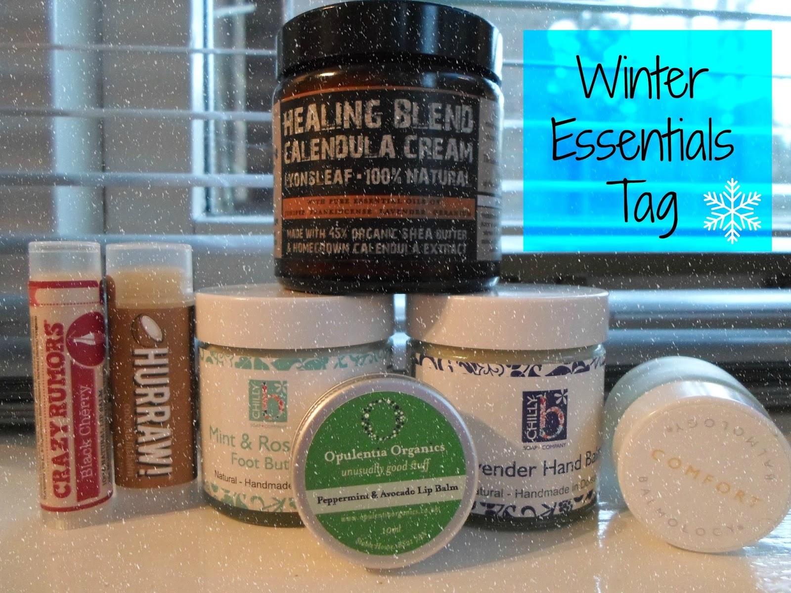 Sugarpuffish Winter Essentials Tag