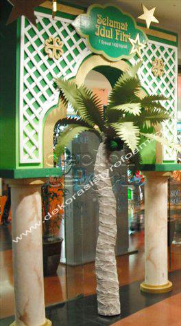 Dekorasi styrofoam dekorasi lebaran for Dekorasi lebaran hotel