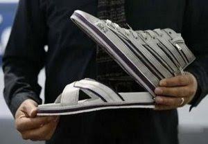 sandal sepatu unik cantik wanita 2011