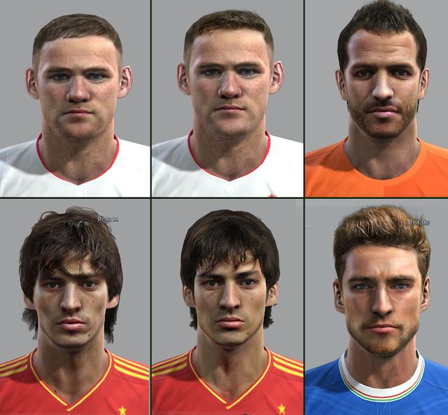 EURO 2012 Facepack By vietanhltk