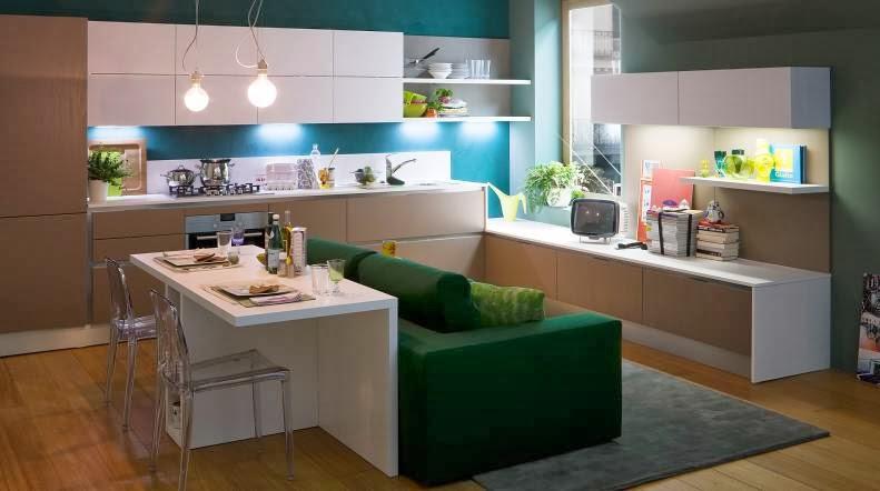 Cocinas para vivirlas cada d a cocinas con estilo - Sofas para cocinas ...