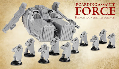 Packs fuerzas marines espaciales Forge World