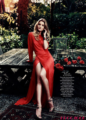 Rosie Huntington Whiteley Glamour Scans