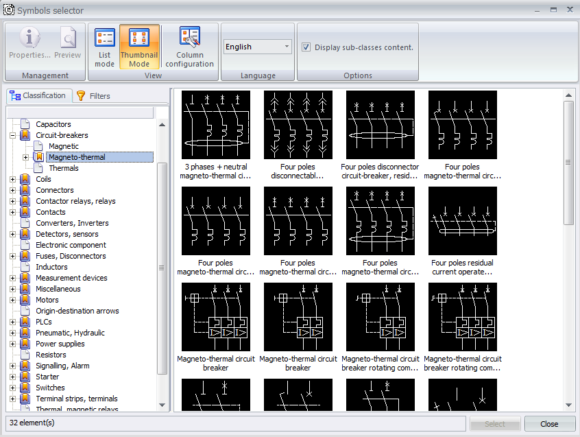 Electrical Symbol Library