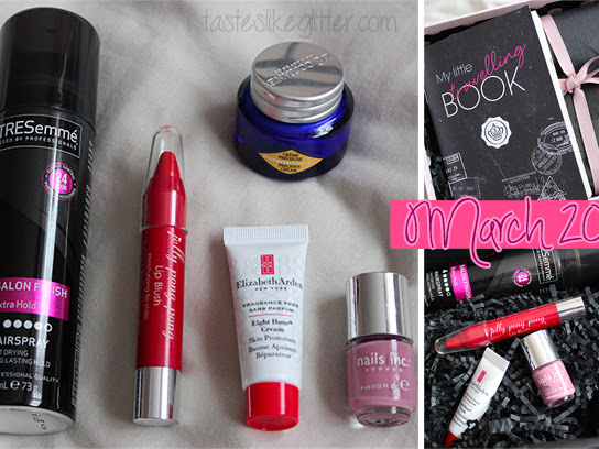 Glossybox - March.