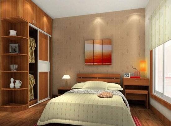 Desain Interior Kamar Tidur Minimalis Modern 2017