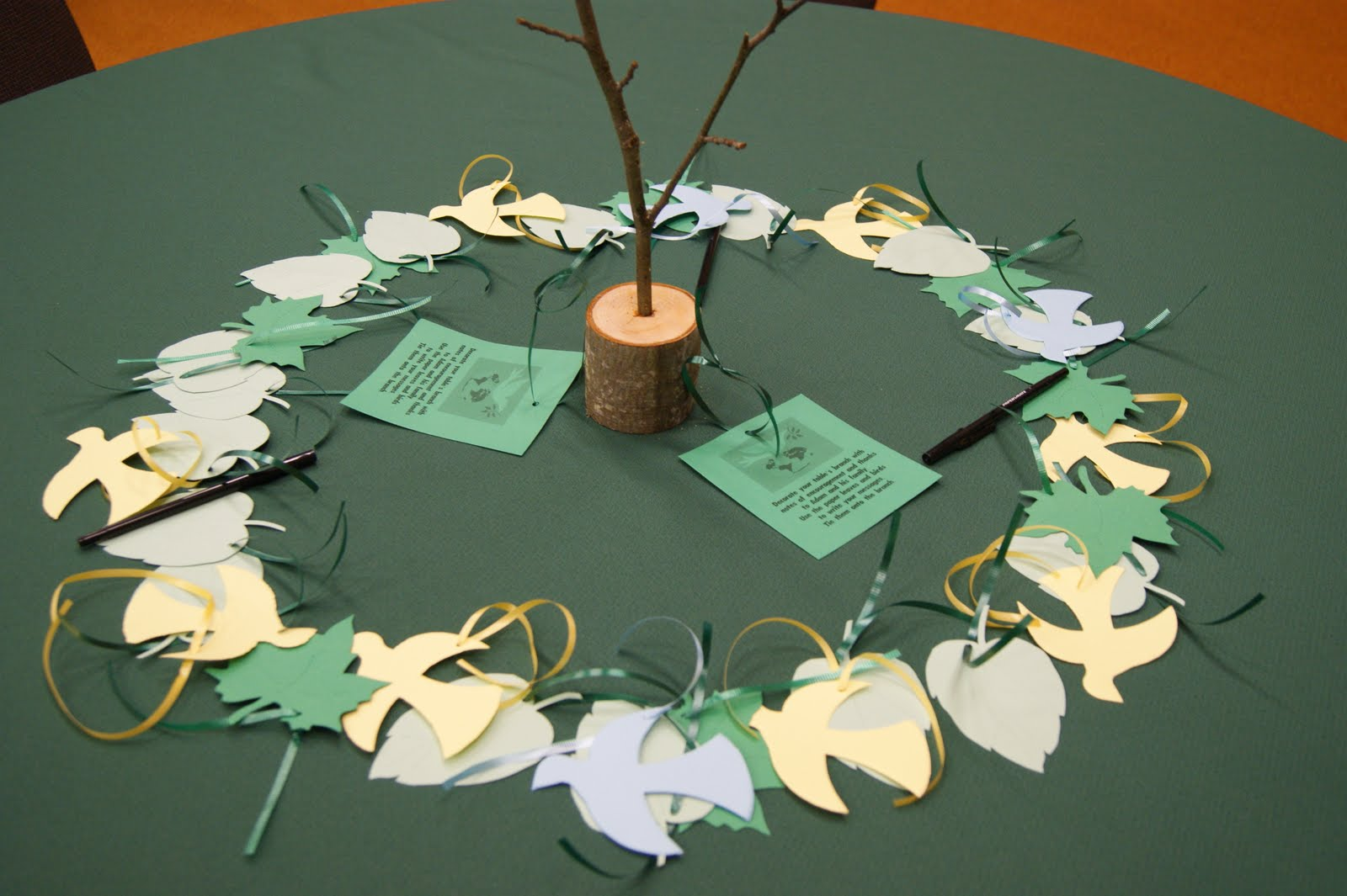 michelle paige blogs: Pastor Appreciation Table Decor