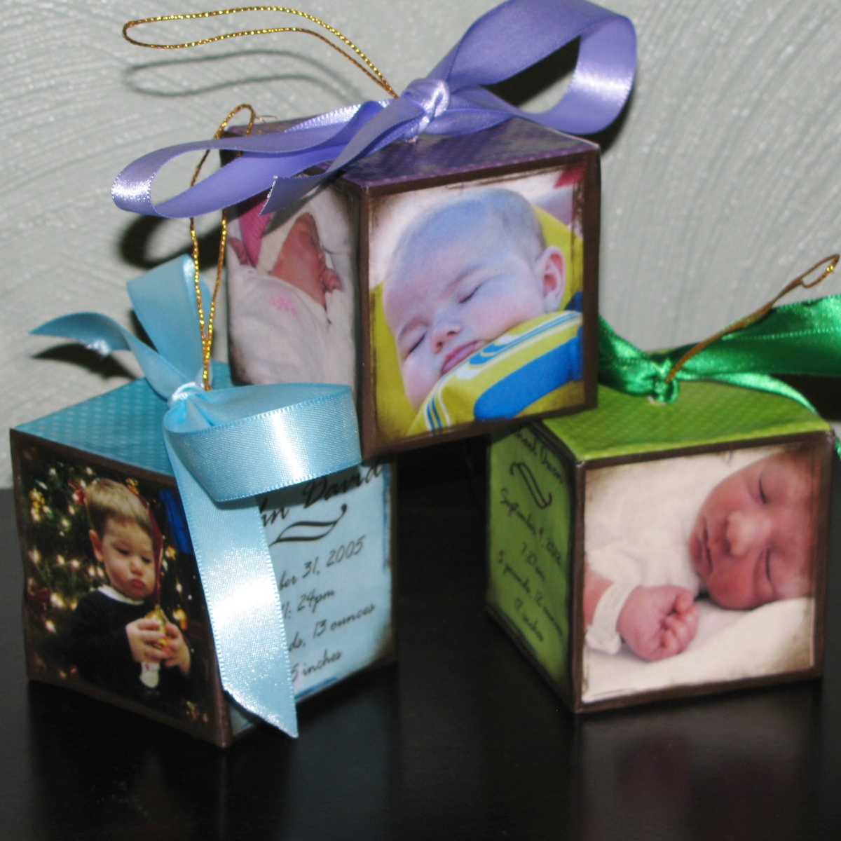Homemade Christmas Ornaments For Babies : A practical pair homemade baby christmas ornaments