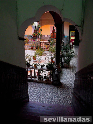 Escalera del Palacio del Pumarejo