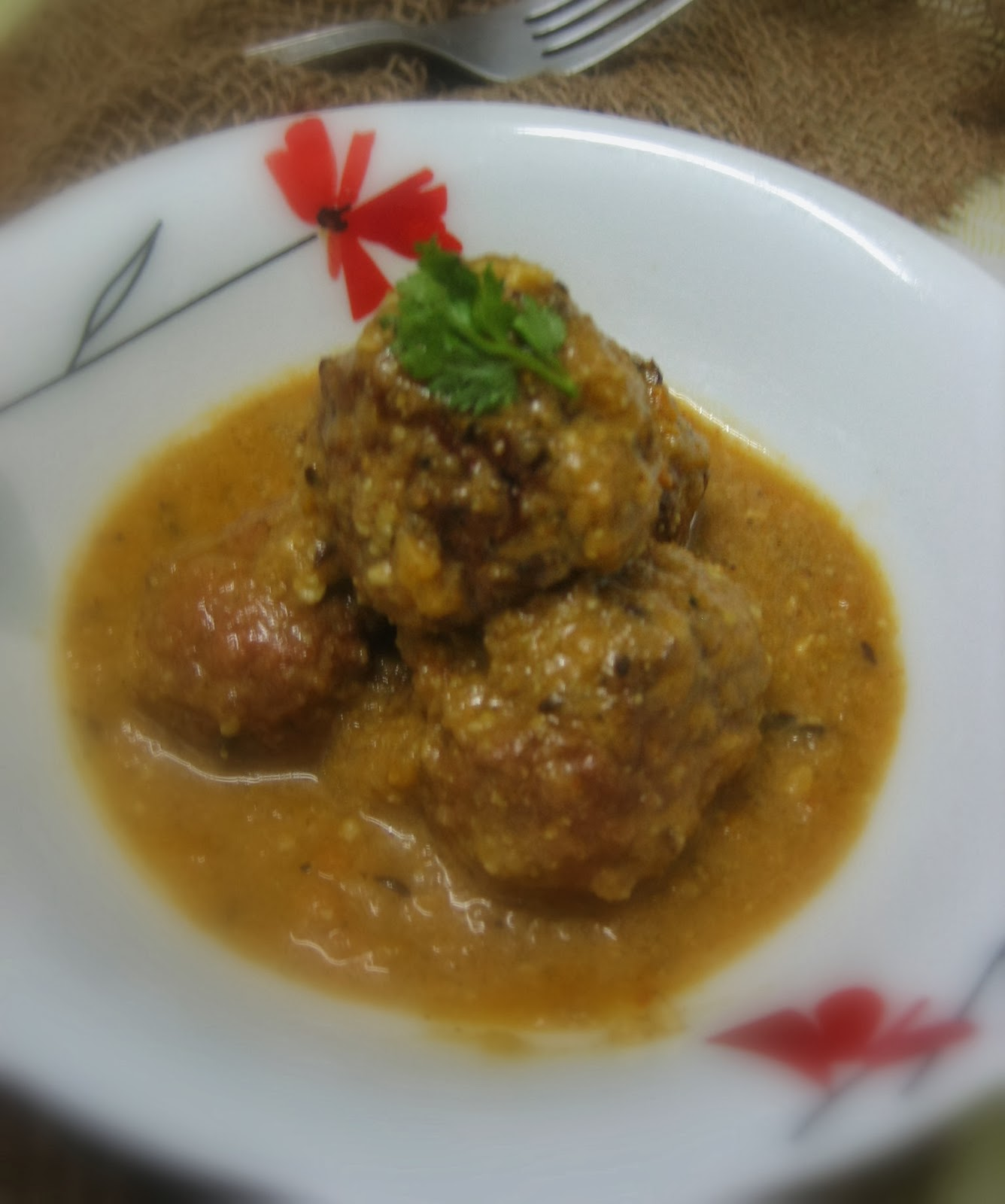 lauki/ bottle gourd kofta curry 3
