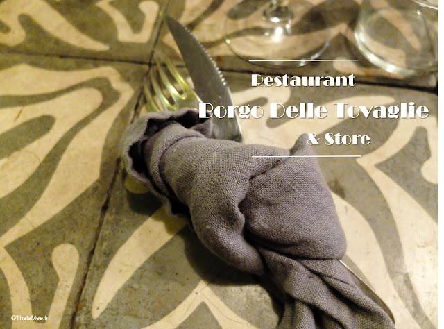 Restaurant Borgo Delle Tovaglie