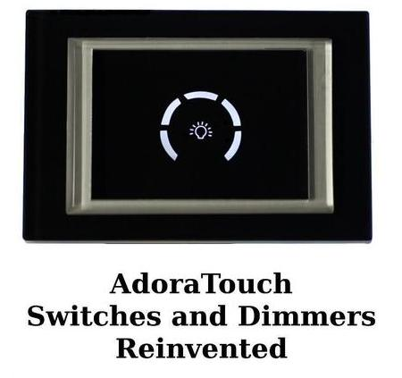 Adora Touch Brings Smart Technology To Your Light Switches