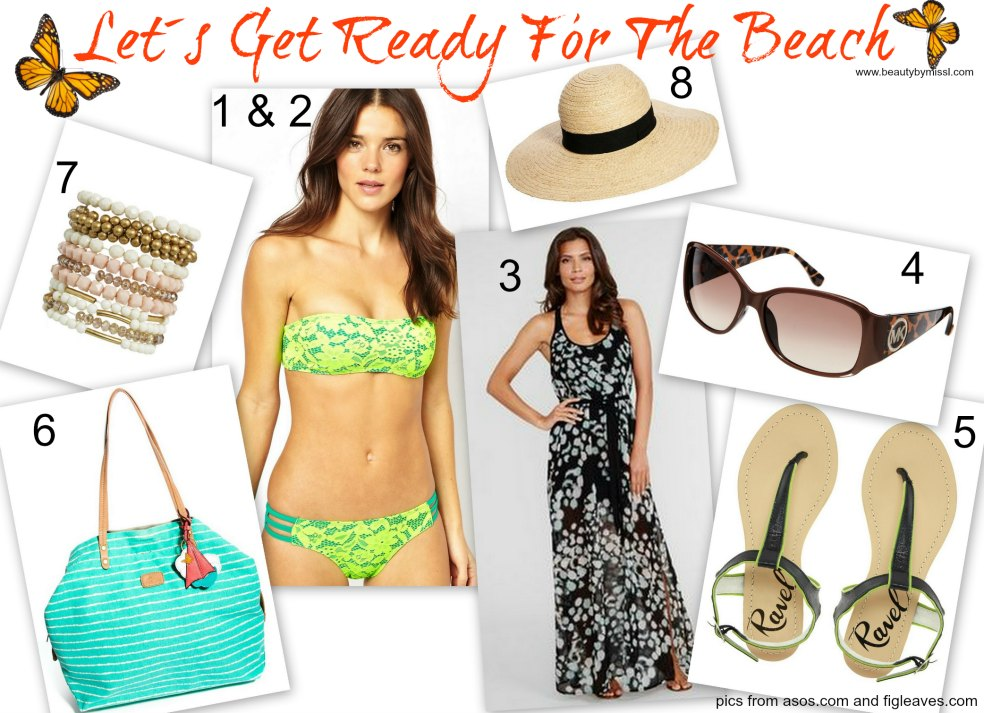 Beach outfit, Asos, Figleaves,