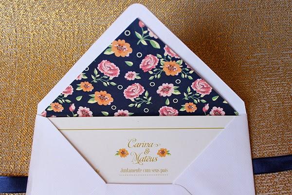 tarjeta diseño floral bodas