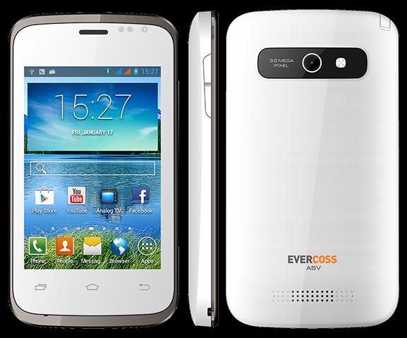 Harga dan Spesifikasi Evercoss A5V
