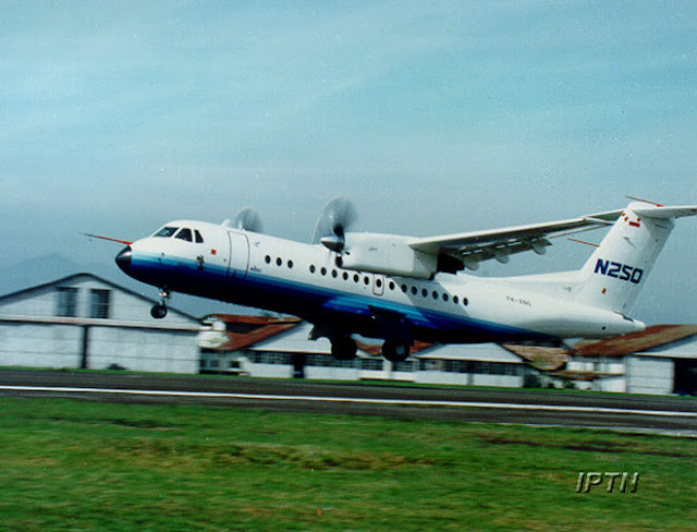 Pesawat N250 Gatotkaca Tonggak Sejarah Peringatan Hakteknas