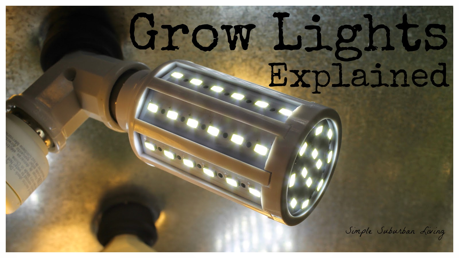 Indoor grow lighting explained