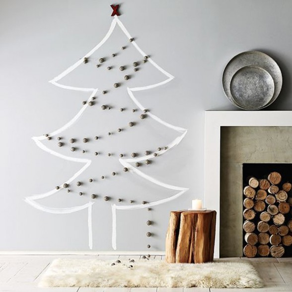 Scandinavian Deko Alternative Xmas Tree