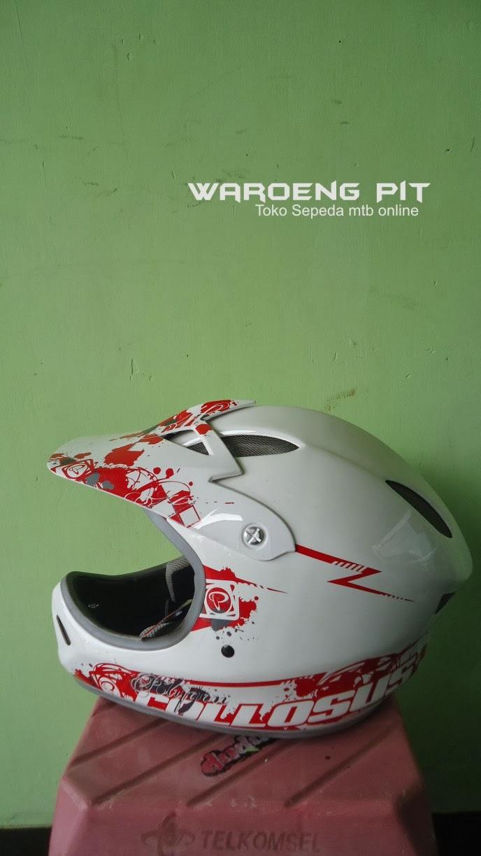 Jual Helmet Full Face Polygon Murah Untuk Mtb dan Bmx