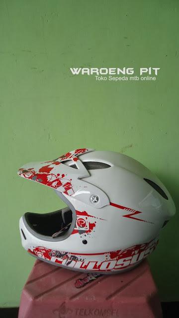 Jual Helmet Full face Polygon sepeda balap mtb bmx gunung downhill murah  2