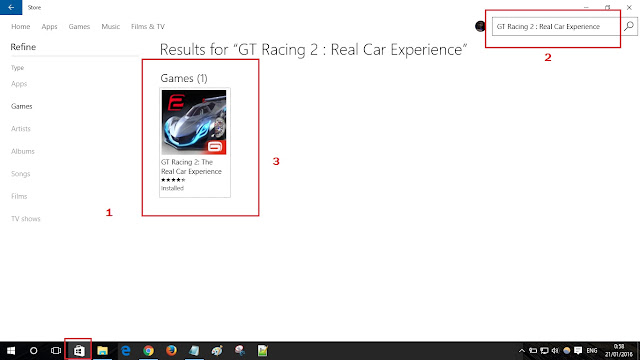 Cara download game di windows store