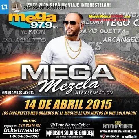 MEGA MEXCLA PARTY 2015