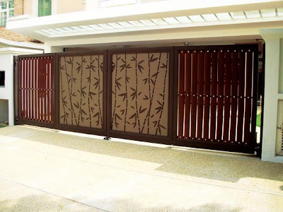 Exceptionnel Modern Homes Main Entrance Gate Designs.