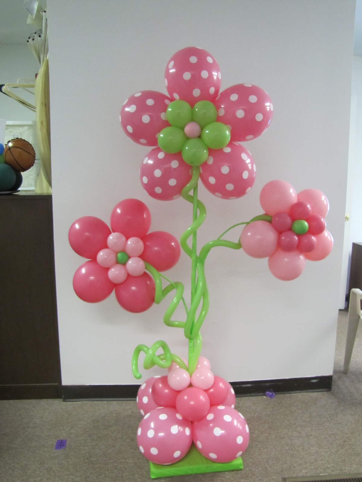 Design classic interior 2012 como decorar un baby shower for Decoracion simple con globos