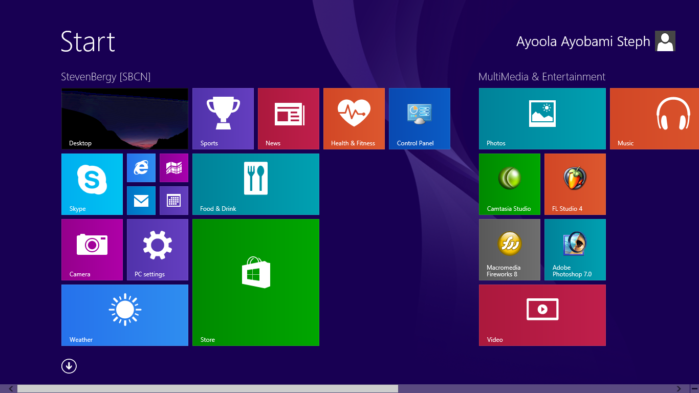 Windows 8.1 Live Tiles