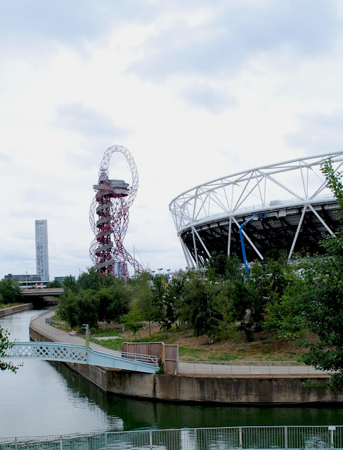 ArcelorMittal Orbit and Olympic Stadium